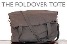 fold over tote