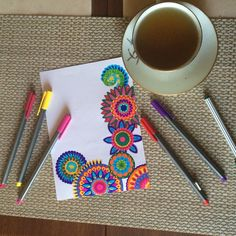 #zentangle good morning :)
