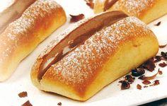 Almofadas com Creme de Chocolate - http://www.receitassimples.pt/almofadas-com-creme-de-chocolate/