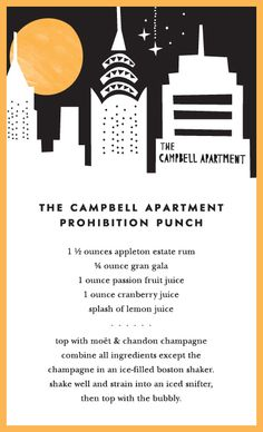 the campbell apartment prohibition punch
