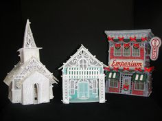 FSL & Applique Victorian House Embroidery Project by Pat Williams Embroidery Tools, Embroidery Software, Machine Embroidery Patterns, Ribbon Embroidery, Freestanding Lace Embroidery, Thread Painting, Victorian House, Dream Machine, Stitch