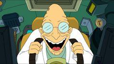 ... Image Futurama, profesor hubert j. farnsworth, white ...