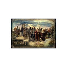 The Hobbit - Cast Poster ($4.99) ❤ liked on Polyvore featuring home, home decor, wall art, movie posters and movie wall art