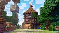 3d Minecraft render by TotallyAnimated