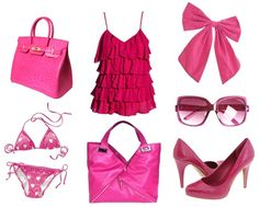 * Pink --  Of course we all know pink as the true girly-girl's favorite color, but it's also associated with romance and happiness. Pink is very calming, so don't wear it if you need tons of energy. Because of its romance association, pink is a good choice for a date. You can also wear it anytime you're a little bummed out for a boost. Of course, if you personally hate pink, then (obviously) this won't work for you.