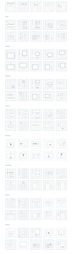A highly polished collection of 300 mini wireframes to help you easily plan and map out all your web and mobile projects. This set includes 150 mini wireframes (screens) for web and 150 for mobile across 16 content categories, fully editable in .Sketch and .PSD formats. Basically, your new UX secret weapon.