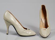 Fontana - 1956 - Manufacturer: Dal Co' (Italian) - Leather pumps - The Metropolitan Museum of Art