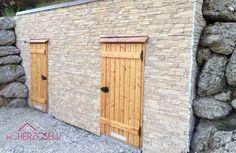 fassadenverkleidung steinoptik - Google-Suche Provence, Garage Doors, Outdoor Decor, Home Decor, Google, Wall Panelling, Decorative Walls, Room Interior Design, Room Wall Decor