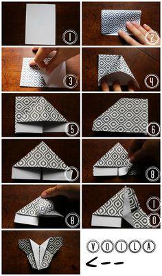 {Do It Yourself} Trois idées créatives avec un papillon en origami !