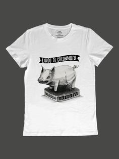 Lardo di Colonnata by Diego Huacuja Italian Recipes, Shirt Designs, Mens Tops, T Shirt, Collection, Style, Fashion, Italian Foods, T Shirts