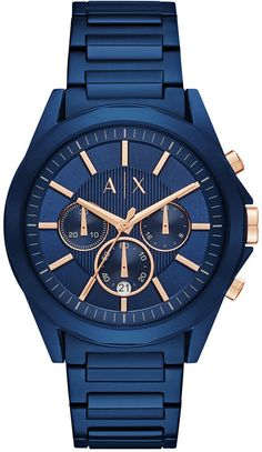 online shopping for Drexler Stainless Steel Bracelet Watch from top store. See new offer for Drexler Stainless Steel Bracelet Watch Stainless Steel Watch, Stainless Steel Bracelet, Armani Exchange, Herren Chronograph, Gold Hands, Casio Watch, Gold Watch, Watches For Men, Men's Watches