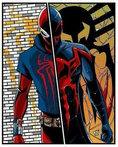 Scarlet Spider and Spiderman 2099 Marvel Comics, Hq Marvel, Marvel Heroes, Iron Spider, Spider Gwen, Spider Spider, Spiderman Art, Amazing Spiderman, Comic Manga