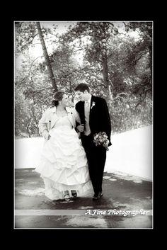 Snowy Colorado wedding at Cielo, gorgeous venue. www.afinephotographer.com