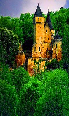 Medieval Castle in Dordogne, France