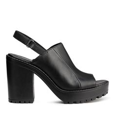 5b19b218b0 H&M offers fashion and quality at the best price. Black SandalsHeeled ...