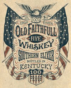 Vintage Americana graphics on Behance