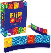 Flip Out I've played this a few times and it is one of the most fun, easy to learn games ever. It seems super expensive though, maybe it's out of print? :P Maybe I should just make my own version then, I got the skills to do so. Best Family Board Games, Family Card Games, Family Activities, Fun Crafts For Kids, Games For Kids, Fun Games, Giveaway, Bored Games, Swipe Card