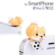 Niconico Nekomura Puppy Plug Earphone Jack Accessory (Shiba Inu)