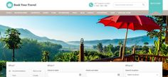 Online Travel Booking WordPress Theme