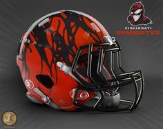 Marvel/NFL Helmets Mashups