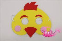 Resultado de imagen de disfraz de gallina con papel crepe