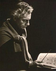 Herbert von Karajan Herbert Von Karajan, Music Love, Art Music, Shirley Bassey, Classical Music Composers, Ode To Joy, Music Symbols, Character Design References, Conductors