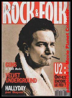 U2, Bono, Rock & Folk N° 311 #u2newsactualitepinterest #u2newsactualite #bono #theedge #larrymullen #adamclayton #u2 #music #rock #rockandfolk