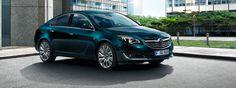 Ny Opel Insignia 5-dørs i Emerald green