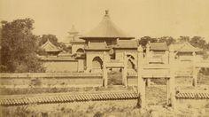 The Temple of Heaven Complex (Tian Tan). Beijing, 1874.