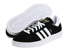 adidas Originals Campus 2 Black/White - Zappos.com Free Shipping BOTH Ways