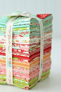 Bonnie and Camille's latest release - Scrumptious coming soon to 1choice4quilting.com!