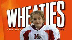Sam Gordon Youth Football Star Wheaties Box Cereal Star First Female Women's Football Star
