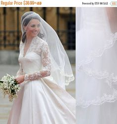kate middleton veil inspired Princess kate veil by dreamupwedding