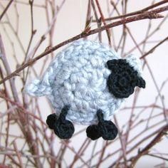 Crochet sheep by Helena Haakt (schaapje haken)
