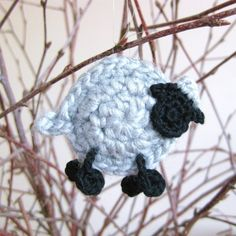 Crochet sheep by Helena Haakt (schaapje haken)