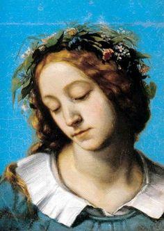 Ofelia, la fidanzata della Morte di Gustave Courbet, 1842