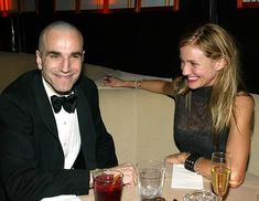 Daniel Day-Lewis and Cameron Diaz - Miramax Golden Globes Party