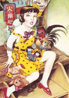 Suehiro Maruo is a Japanese manga artist, illustrator, and painter.