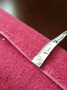 Prep at the Beach: How to Make a Spa Towel Wrap
