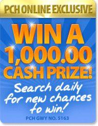 PCH Search & Win: colonics