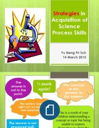 B6 - Strategies in Acquisition of Science Process SKills