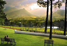 Le Petite Ferme - How can you not fall in love with that view? Cannot wait to have lunch here in December!