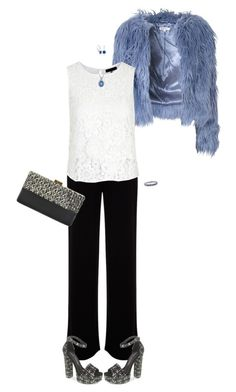 """""""Last-Minute Invite"""" by polylana ❤ liked on Polyvore featuring Mint Velvet, Glamorous, Chinese Laundry, La Regale, Miadora and Belk & Co."""