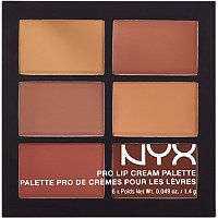 Nyx Cosmetics - The Nudes Pro Lip Cream Palette in  #ultabeauty