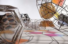 Model room, 2003, detail - Supersized spheres, rainbow walkways and kaleidoscopic spaceships – the otherworldy designs of Olafur Eliasson dance between art and architecture, fusing light, colour and geometry in their real world environments