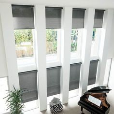 Solar Shades - Custom Fabric Shades, Window Shades - Smith+Noble - Smith & Noble