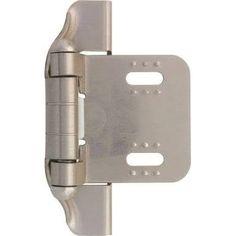 Liberty Hardware H01911C-SN-O 1/4 Inches Ni Semi Wrap Hinge
