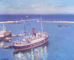 Albert Marquet et le port d'Alger - MARENOSTRUM