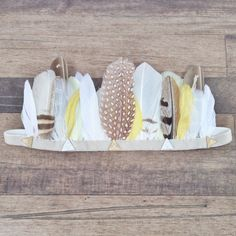 Hey, I found this really awesome Etsy listing at https://www.etsy.com/listing/196736804/feather-woodland-crown-goldie