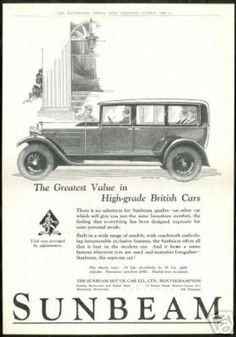 Vintage Car Advertisements of the (Page Vintage Art, Vintage Ideas, Car Advertising, Art Uk, Vintage Bicycles, Retro Cars, Print Ads, Old Cars, Motor Car
